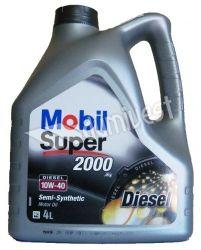 10W40 Mobil Super 2000 Diesel 4L