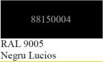 Vopsea spray acrilica H.C. negru lucios 400ml