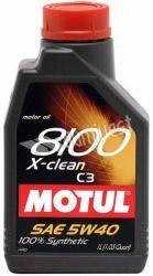 5W40 8100 X-CLEAN 1L