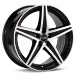 5X112 8X17 ET35 ENERGY MATT BLACK DIAMOND CUT 75