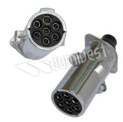 Fisa Remorca 24V 7 pini metal